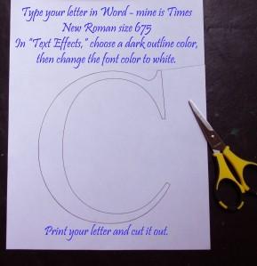 letter tutorial 1