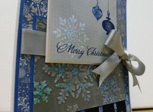 Blue Merry Christmas 3