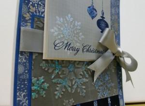 Blue Merry Christmas 3