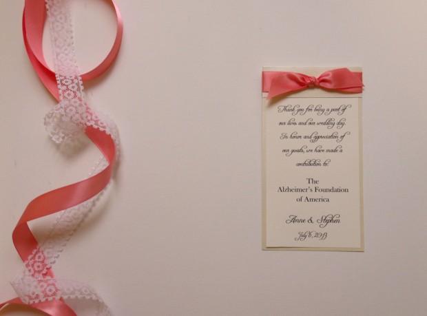ribbon donation card 1