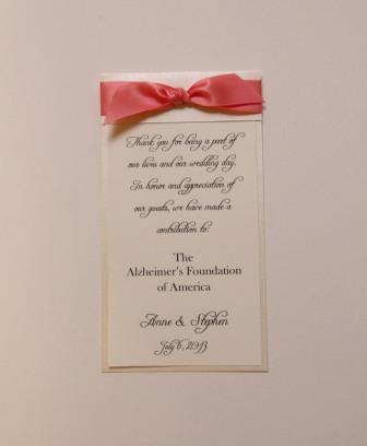 ribbon donation card 2