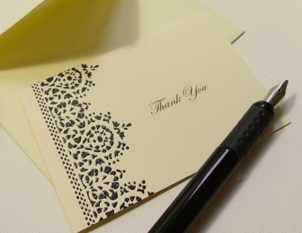 Show your appreciation in elegant style with these Thank You cards
