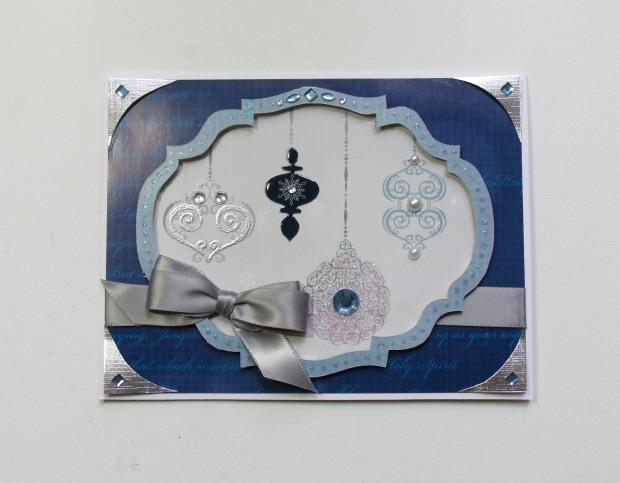 blue ornaments 1