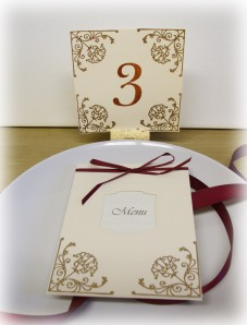 square table number 3