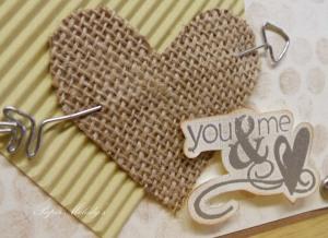 Textured Valentine 3