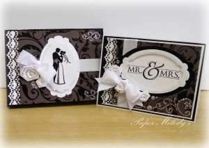 Elegant Card and Box Set, a perfect gift for the happy couple