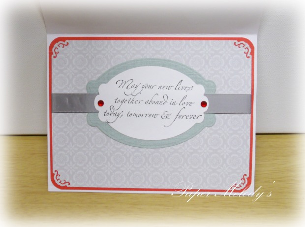 wedding box card 2