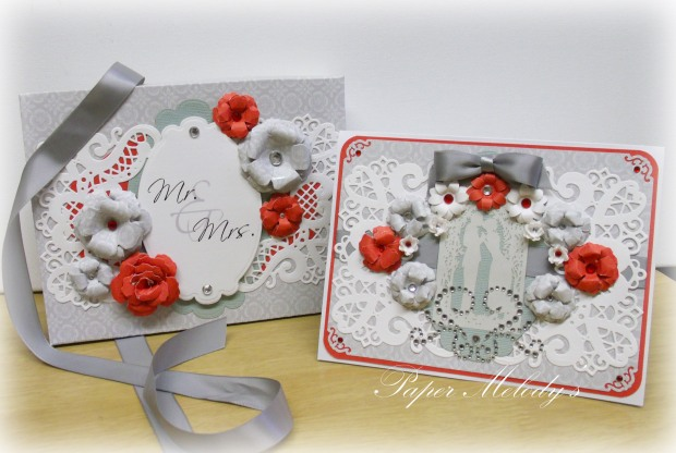 wedding box card set