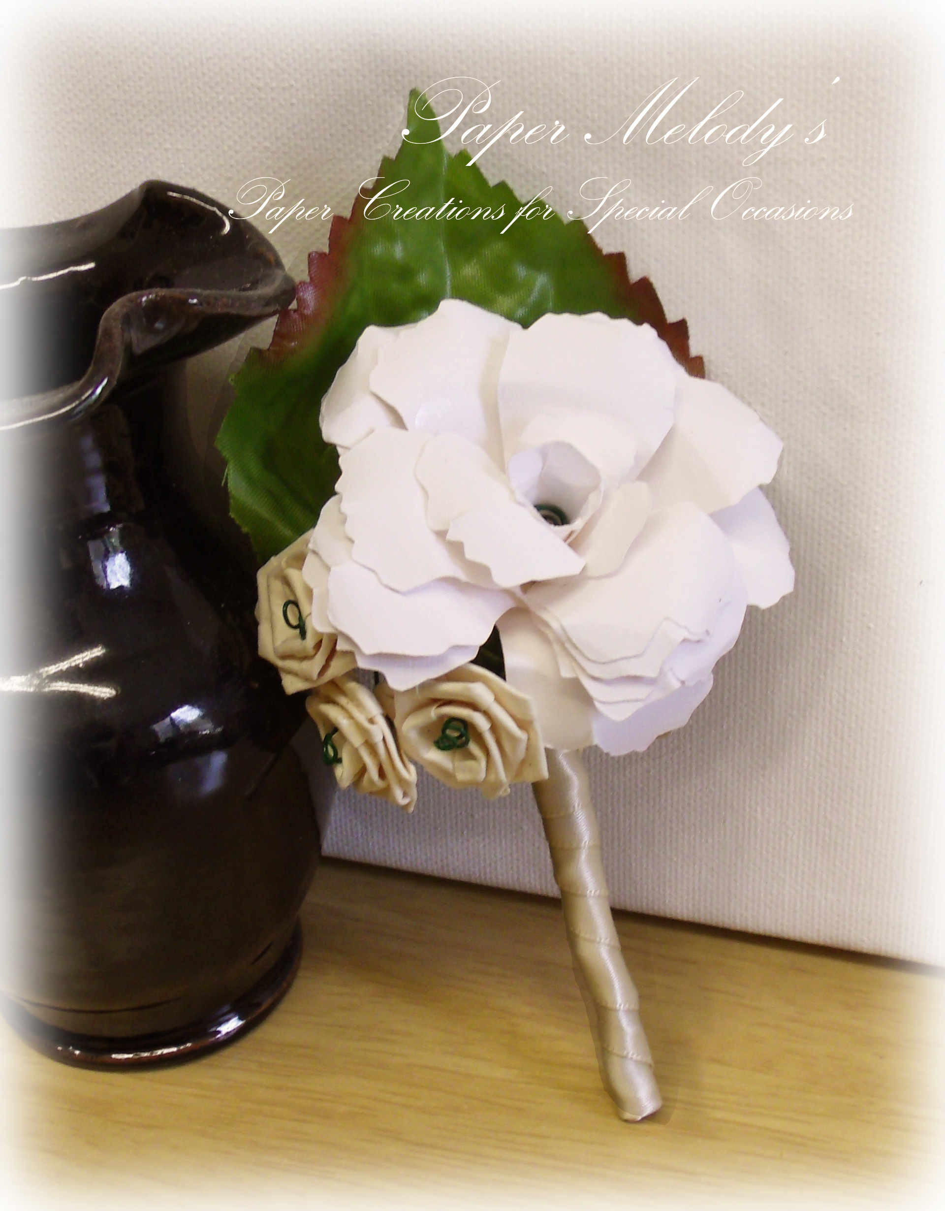 Paper Flower Corsage Gallery Flower Decoration Ideas