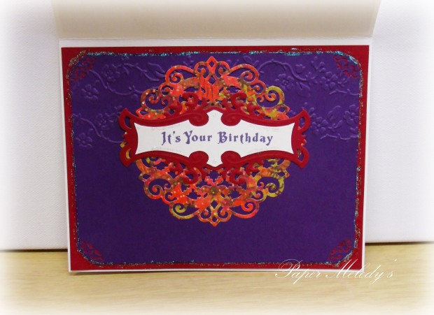 red and purple birthday 2