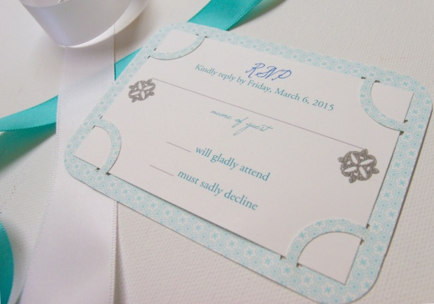 patterned invite 3