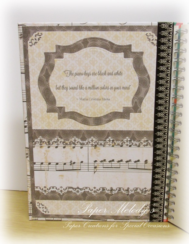 music notebook 2