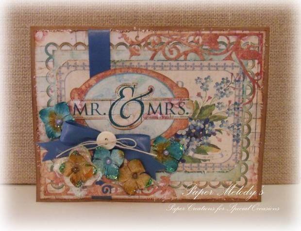 Rustic Wedding Card 1