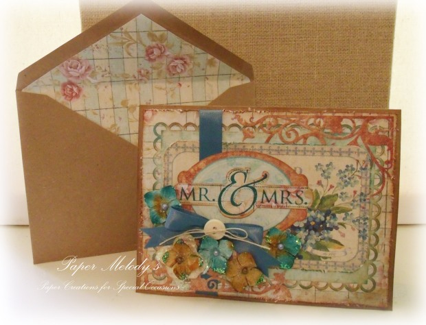 Rustic Wedding Card 4
