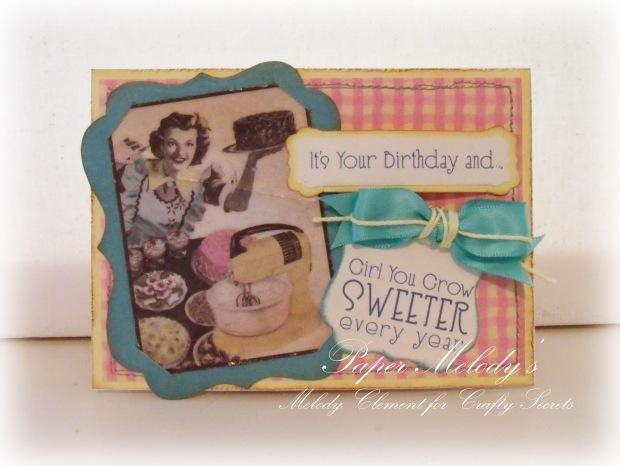 Sweet Birthday Card 1