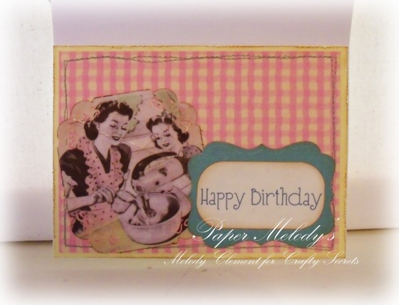 Garden digital stamp download by crafty secrets from crafty secrets - Sweet Birthday Card 2
