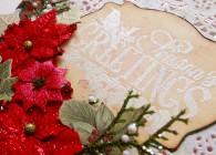 Seasons Greetings Altered Box