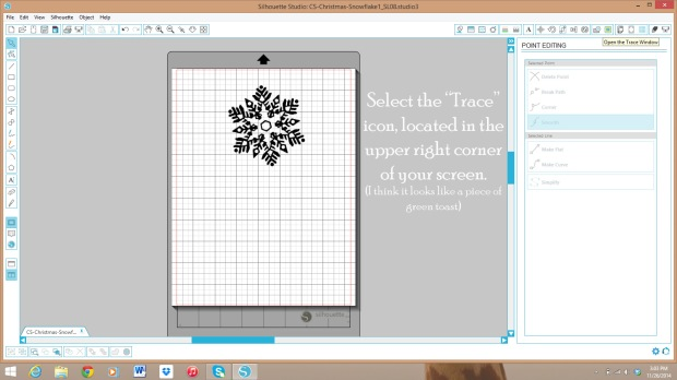 Use your Silhouette machine to cut out digital stamps and images