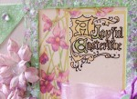 A Joyful Eastertide card by Paper Melody's.  Made with Crafty Secrets Easter images