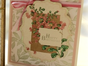 Set of Floral Birthday Cards by Paper Melody's using Crafty Secrets images