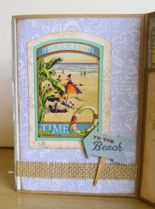Seaside Memories for July Crafty Secrets Challenge