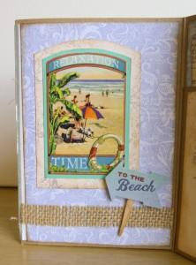 Seaside Memories for July Crafty Secrets Challenge
