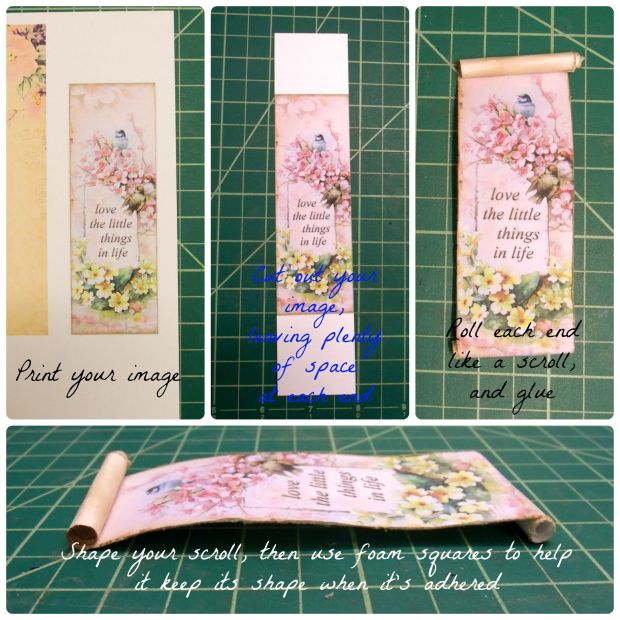 Creating a Scroll embellishment